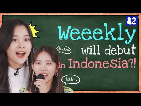 Download Lagu Weeekly's stunning bahasa Indonesia skills! [Tongue Twister].mp3