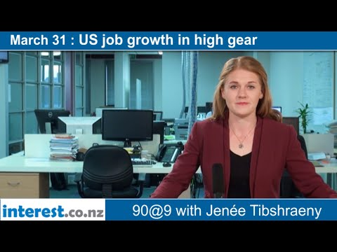 90 seconds @ 9am : US job growth in high gear