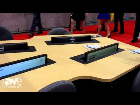 InfoComm 2014: NOVA Solutions Talks About their AV Lectern and Trolley