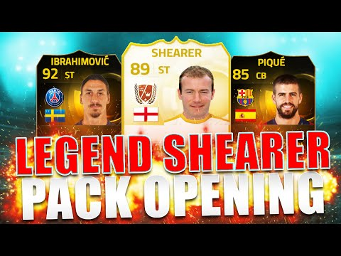 OMG Legend Alan Shearer Now In Packs FIFA 15 Pack Opening Hunting SIF Ibrahimovic IF Mata FUT 15