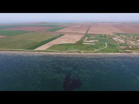Природа Таманского полуострова, вид с квадрокоптера