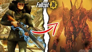Fallout 76 | Insane 10,000+ Rifle Damage Build For Scorchbeast Queen! (Fallout 76 Best Builds)