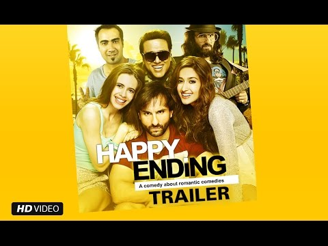 Happy Ending Official Trailer | Saif Ali Khan, Ileana D'Cruz, Govinda & Kalki