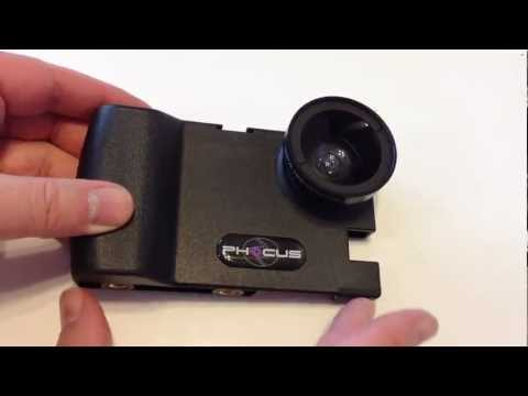 Phocus Accent iPhone Camera Accessory For iPhone 5/4/4S Review