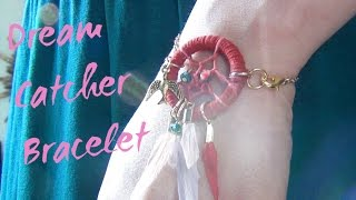 Dreamcatcher Bracelet ♥ DIY
