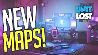 Overwatch - 3 NEW MAPS! SOMBRA HACKING ROOM MAP!