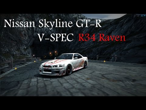 Nfs World: Meu novo Skyline R34