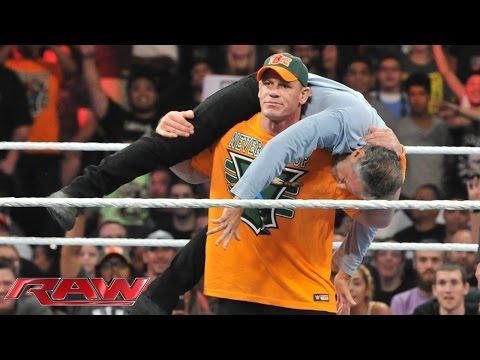 media jone cena raw match