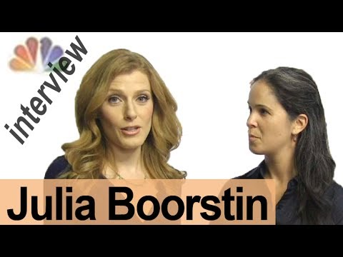JULIA BOORSTIN — Interview a Broadcaster!  — American English Pronunciation