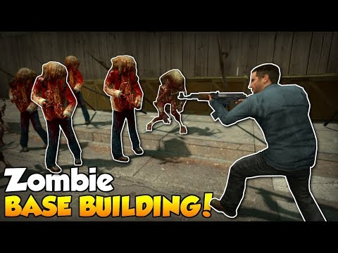 BASE BUILDING AGAINST ZOMBIES! - Garry's Mod Gameplay - Gmod Sandbox Zombie Survival