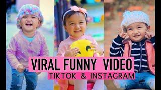 Nepali Viral Funny Baby Video Tiktok & Instagram - Shailyn Shrestha