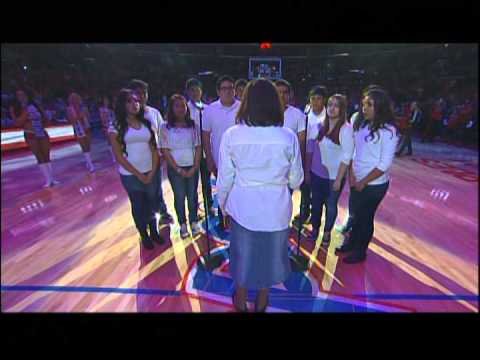 Armona Union Academy - 11/24/13 National Anthem - LA Clippers vs. Chicago Bulls