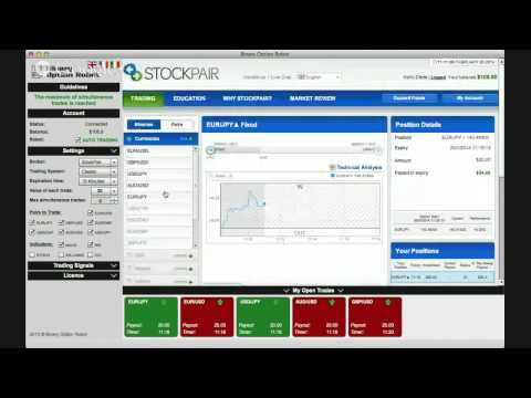 Binary options robot online