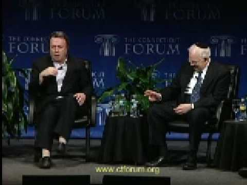 Christopher Hitchens Goes After Rabbi Harold Kushner re: Circumcision