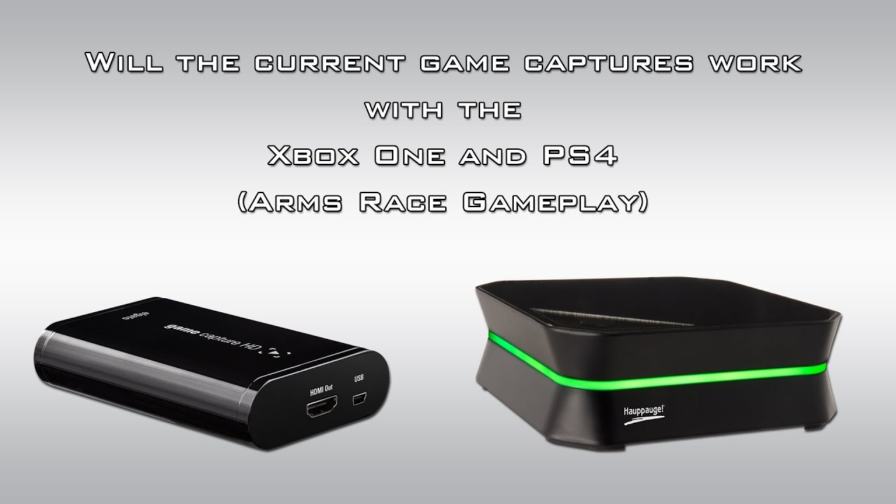 Will Current Game Capture Products Work With The Xbox One