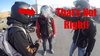 Your helmet is smoking! | Spamming People | Worst Rider Ever!