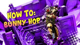 HOW TO DO THE NEW BUNNY HOP(DIZZY GUIDE) - Apex Legends WTF And Funny Moments! #2