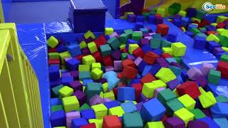 Learn Colors with Funny BABY Indoor Playground Family Fun Play Area Nursery Rhymes Song For Fun Kids