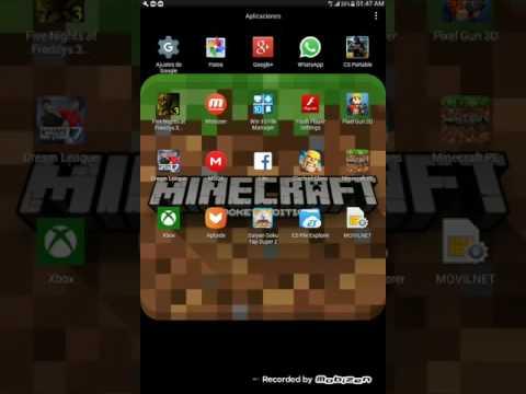 Como actualizar minecraft pe en la play store (100%)gratuito