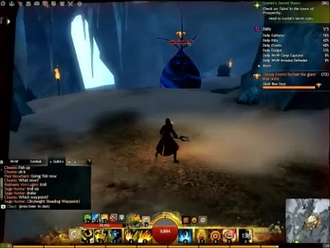 Guild Wars 2 - New Frostgorge Sound Farming rute