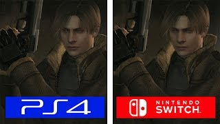 Resident Evil 4 | Switch VS PS4 | Graphics & FPS Comparison