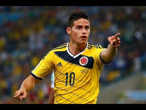 El Mejor Gol del Mundial James Rodriguez Colombia vs Uruguay (2-0) Copa del Mundo 2014 HD