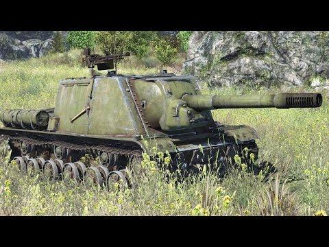 Советские САУ. War Thunder