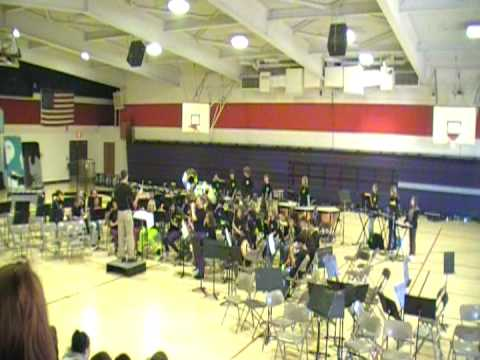 Central & Ishi Middle Schools Band- Stars & Stripes Forever