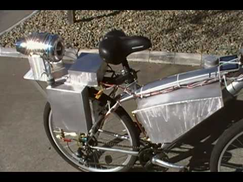 Worlds coolest gas turbine jet bike AMT walk around