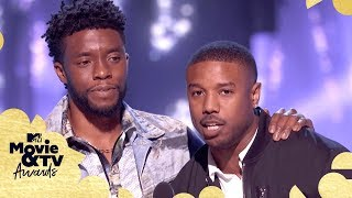 The Best of Black Panther ft. Chadwick Boseman & Michael B. Jordan | 2018 MTV Movie & TV Awards