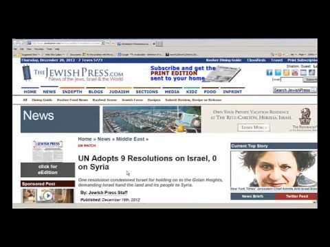 Middle East News Pointing To Bible Prophecy-Dec. 20, 2012