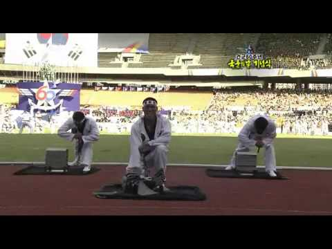 South Korean Army Special Forces Taekwondo Demonstration
