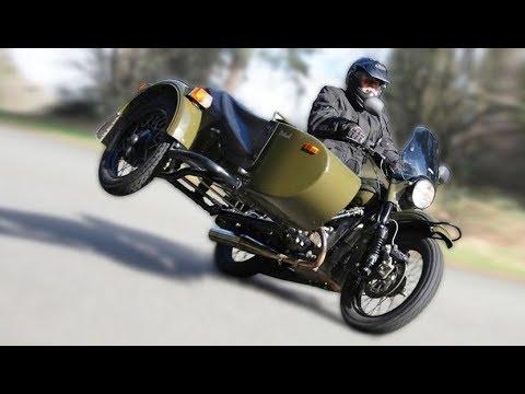 Новый мотоцикл «Урал» комплектуется водкой и консервами