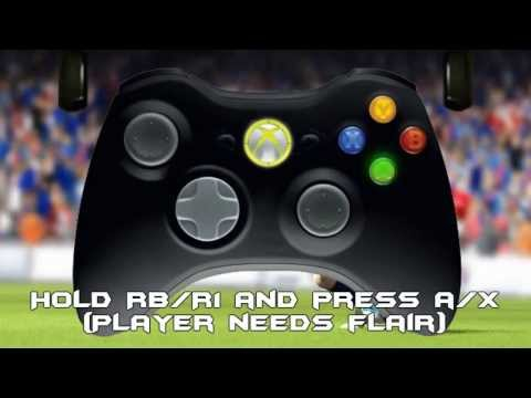 Fifa 13 - All Skills Tutorial w/ Controller animation (Xbox. PS3 & PC)