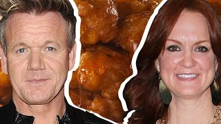 Gordon Ramsay Vs. Ree Drummond: Whose Corn Fritters Are Better? | Celebrity Snackdown