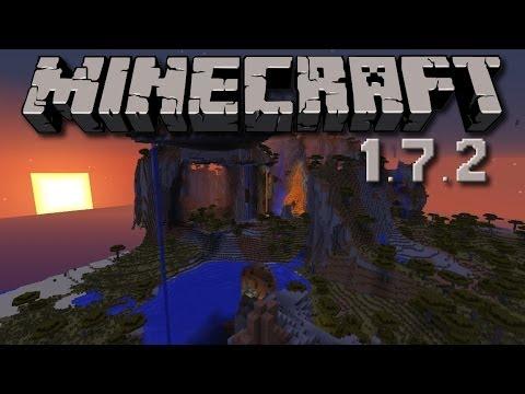 Minecraft 1.7.2 Seed Spotlight - Most Amazing Savanna Plateau EVER!