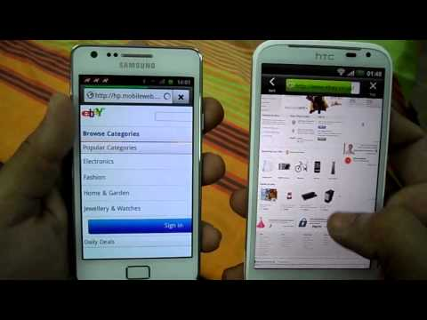 SAMSUNG GALAXY S2 VS HTC SENSATION XL BROWSING EXPERIENCE.mp4
