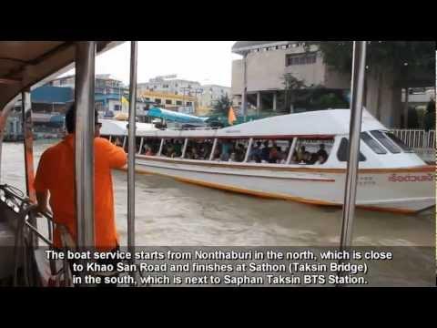 Chao Phraya Express Boat – Bangkok