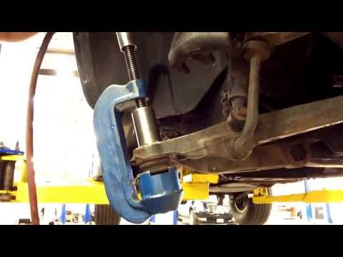 How To Replace Dodge Durango Lower Ball Joints Replacement Steps | How To Save Money And Do It ...