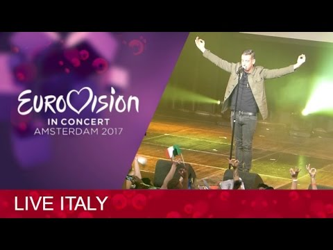 Eurovision Italy 2017 LIVE @Eurovision In Concert (Amsterdam)