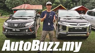 2019 Mitsubishi Triton First Drive in Kota Kinabalu, Sabah - AutoBuzz.my