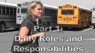 Roles and Responsibilities for School Bus Drivers