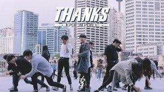 [KPOP IN PUBLIC CHALLENGE - SYDNEY] SEVENTEEN (세븐틴) -  THANKS (고맙다) Dance Cover || SELLOUTS