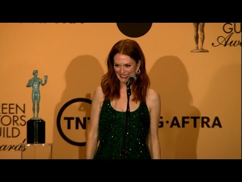 Julianne Moore's Son Told Her To