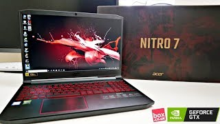 Acer Nitro 7 Gaming Laptop / Core i7 / GeForce GTX / 144Hz Display + GAMING TEST