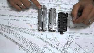 Сравнение размеров Leatherman Super Tool 300 и Leatherman Charge TTi