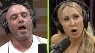 Joe Rogan Tries Nikki Glaser's Voice Exercises