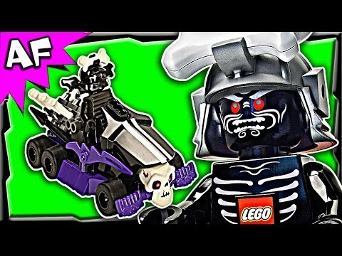Garmadon GO-KART Custom Lego Ninjago Rebooted Building Review 70504 70725
