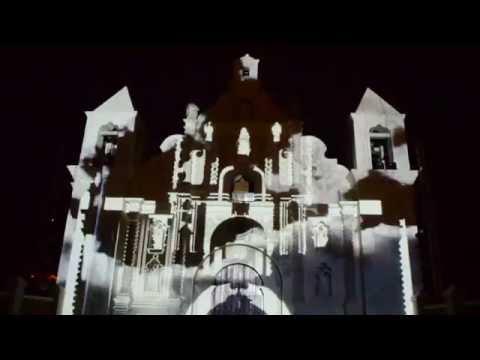 Videomapping Iglesia de La Merced Gracias, Lempira, Honduras
