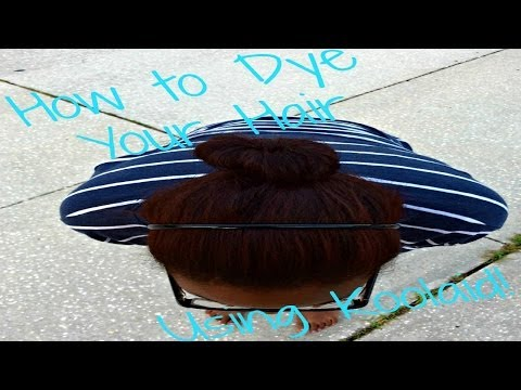 How to Dye Your Hair Using Koolaid Successfully! (Dark Hair!)